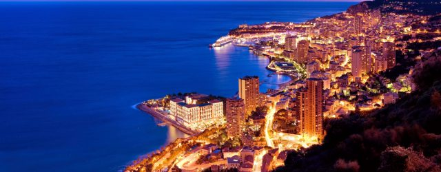 Monaco Sea Shore Skyline